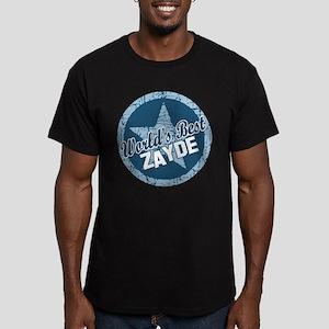 Worlds Best Zayde Men's Fitted T-Shirt (dark)