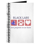 Black Lab Pawprints Journal