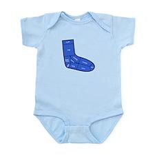 Sock Anatomy Infant Bodysuit