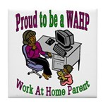 Proud WAHP Tile Coaster