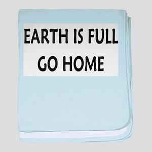 Go Home baby blanket