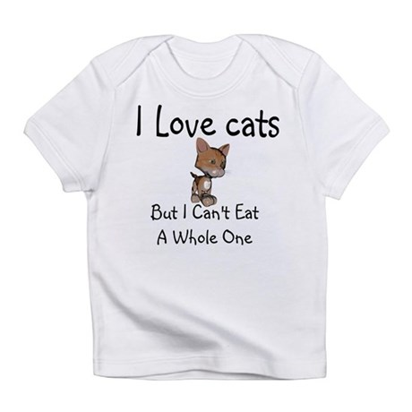 I Love Cats Infant T-Shirt
