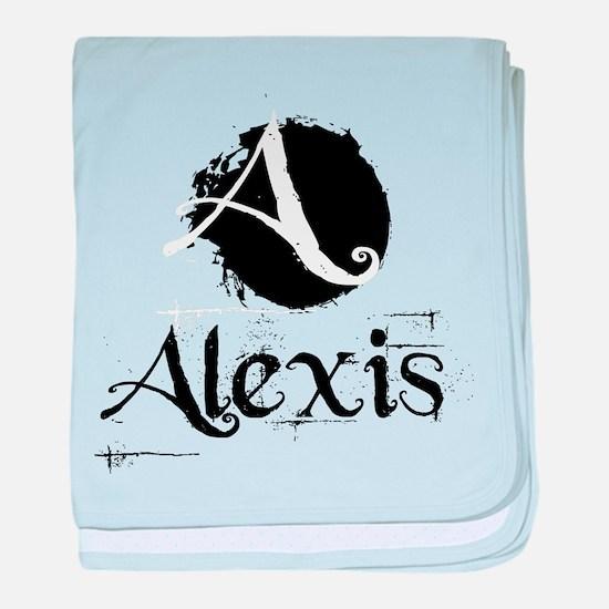 Alexis Grunge baby blanket