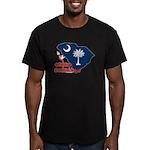 ILY South Carolina Men's Fitted T-Shirt (dark)