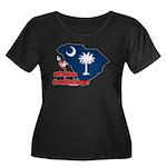 ILY South Carolina Women's Plus Size Scoop Neck Da