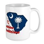 ILY South Carolina Large Mug