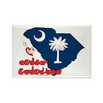 ILY South Carolina Rectangle Magnet (100 pack)
