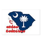 ILY South Carolina Postcards (Package of 8)