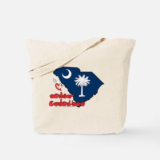 ILY South Carolina Tote Bag