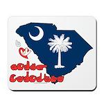 ILY South Carolina Mousepad