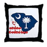 ILY South Carolina Throw Pillow