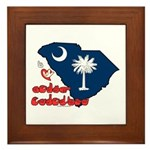 ILY South Carolina Framed Tile