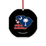 ILY South Carolina Ornament (Round)