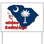 ILY South Carolina Yard Sign