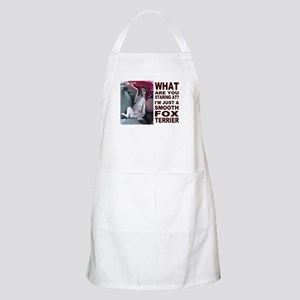 Just a Smooth Fox Terrier  BBQ Apron