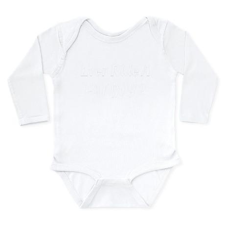Fat Boy Long Sleeve Infant Bodysuit