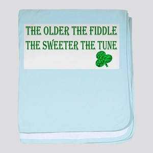 Irish saying .. baby blanket