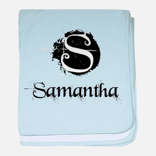 Samantha Grunge baby blanket