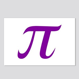 Purple Pi Postcards (Package of 8)