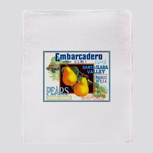 Embarcadero Throw Blanket
