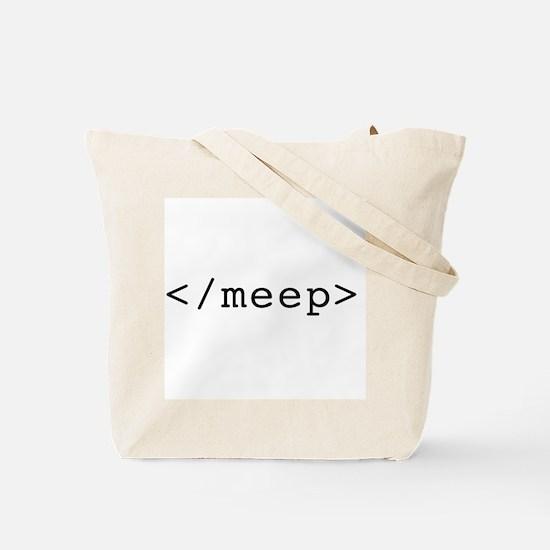 <meep> Tote Bag