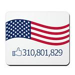 America Likes Mousepad
