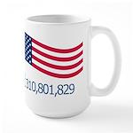 America Likes Large Mug