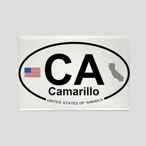 Camarillo Rectangle Magnet
