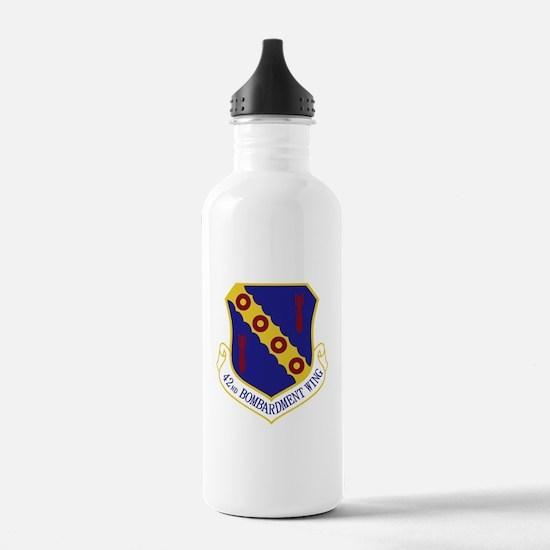 42nd Bomb Wing Water Bottle