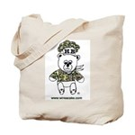 Wire A Cake Bear Tote Bag