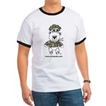 Wire A Cake Bear Ringer T-shirt