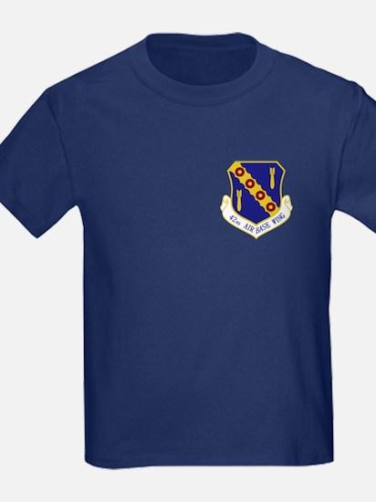 42nd Air Base Wing Kid's T-Shirt (Dark)