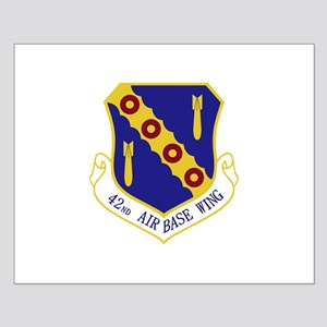 42nd Air Base Wing Small Poster