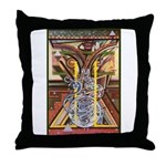 Cultural Icon Throw Pillow