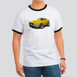 Roadrunner Yellow Car Ringer T