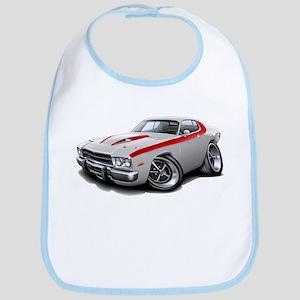 Roadrunner White-Red Car Bib