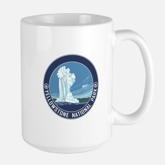 Yellowstone Travel Souvenir Large Mug