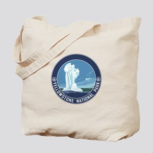 Yellowstone Travel Souvenir Tote Bag