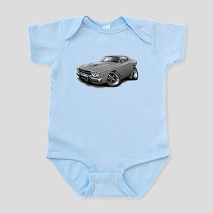 Roadrunner Grey Car Infant Bodysuit