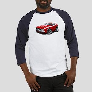 Roadrunner Red-White Car Baseball Jersey