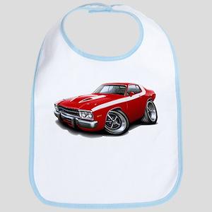 Roadrunner Red-White Car Bib