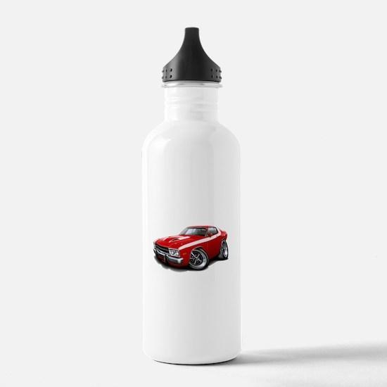 Roadrunner Red-White Car Water Bottle