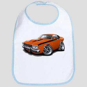 Roadrunner Orange-Black Car Bib