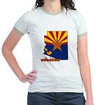 ILY Arizona Jr. Ringer T-Shirt