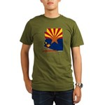 ILY Arizona Organic Men's T-Shirt (dark)