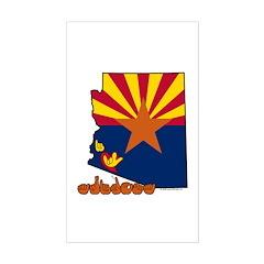 ILY Arizona Sticker (Rectangle)