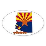 ILY Arizona Sticker (Oval 10 pk)