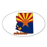 ILY Arizona Sticker (Oval 50 pk)