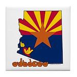 ILY Arizona Tile Coaster