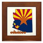 ILY Arizona Framed Tile